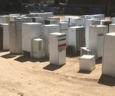 Where refrigerators go to die